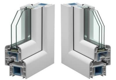 Пластиковые окна из профиля Veka 70 swingline