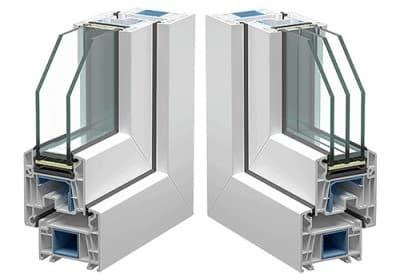 Пластиковые окна из профиля Veka WHS Halo 72